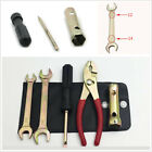 6Pcs Spark Plug Spanner Wrench Socket Tool Kit Universal Motorcycle Accessories