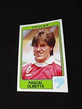 OLMETA  SC TOULON   image sticker N° 304  FOOTBALL 86 PANINI 1986