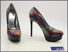 Special Occasion Slim ZU Heels for Women
