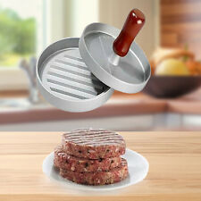 Burger Press Maker Hamburger Patty Stuffed Rings Cooking Grill Breakfast Tool