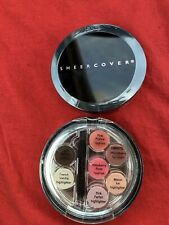 2x Sheer Cover Cream Eyeliner, Lipgloss Palette -SEALED