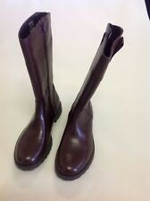 M&S Kids Leather Boots Size: 2
