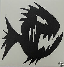Cool Piranha logo Sticker/Decal windsurfing/kitesurfing/s urfing