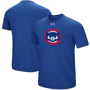 UNDER ARMOUR CHICAGO CUBS COOPERSTOWN T-SHIRT