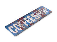 TIN SIGN Coffee Shop Rust Metal Décor Wall Art Kitchen Café Bar A298