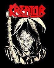 KREATOR cd lgo DEATH REAPER Official SHIRT Size LRG new