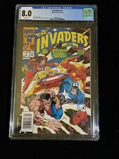 Marvel Comics, The Invaders #1,5/93, CGC 8.0 White Pages, Roy Thomas, 6016