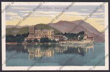 BRESCIA ISOLA DI GARDA 10 LAGO Cartolina 1909