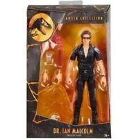Jurassic Park Amber Collection Dr. Ian Malcolm Jeff Goldblum Mattel NEW