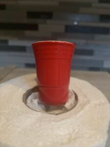 Nora Fleming Fill Me Up Red Solo Cup Ceramic Mini NWOT