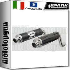 SPARK 2 SCARICO ALTO OMOLOGATO TONDO CARBONIO DUCATI 900 SS IE 1998 98 1999 99