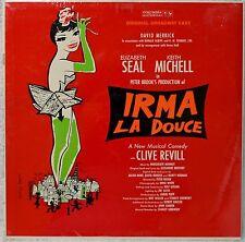 Irma La Douce OBC SEALED LP Mono Original Broadway Cast 1st Press Musical NICE!
