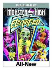 Monster High: Electrified (DVD, 2017) W/ Slipcover Brand New