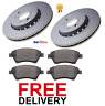 FOR RENAULT SCENIC MK2 (2003-2007) FRONT 2 BRAKE DISCS & PADS SET *BRAND NEW*