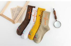 *NEW* Travis Scott Men's Fashion Socks Cactus Jack 4 PAIRS