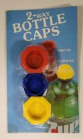 2 Way Bottle Caps Vintage New Sealed Old Stock