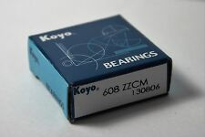 Koyo 608zz deep groove Ball Bearings