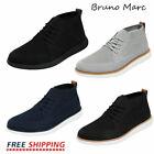 Bruno Marc Mens Mid Top Chukka Sneakers Walking Shoes Outdoor Indoor Sneakers For Sale