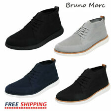 Bruno Marc Mens Mid Top Chukka Sneakers Walking Shoes Outdoor Indoor Sneakers