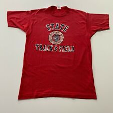 New listing Vintage 80s Champion Minnesota State Track & Field T-Shirt Size M Made In Usa