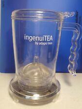 Adagio Teas ingenuiTEA loose tea dispensing pot steaper infuser 16 oz