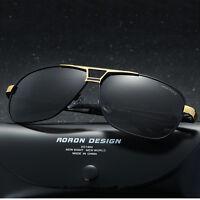 Mens Polarized Sunglasses Driving Aviator Outdoor Sports Eyewear Glasses UV400