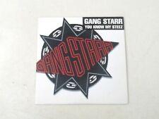 GANG STARR - YOU KNOW MY STEEX/WASSUP? - CD CARDBOARD PROMO 1997 VG++/EX