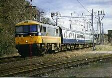 Electric locomotive Inter City Class 86 86236 Berkswell Warwickshire 1987