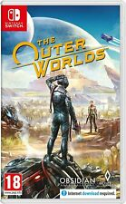 THE OUTER WORLDS NINTENDO SWITCH PAL UK NEW AND SEALED