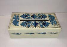 Mexican Vintage Wood Tissue Holder Box Cover Tissue Paper Dispenser Home Decor