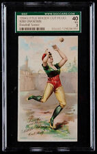 1894 N360 Little Rhody Cut Plug Baseball Scenes SGC 40 VG Schedule