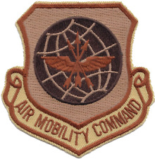 USAF Air Mobility Command Desert Embroidered Patch ** LAST FEW **