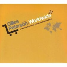 GILLES PETERSON Presents WORLDWIDE 2CDs (NEW & SEALED) Radio Show inc MIA Dwele