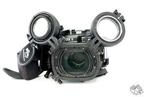 Doppel Flip-Adapter Fantasea FG7X II  FG7X III FG16 FP7100 Unterwassergehäuse