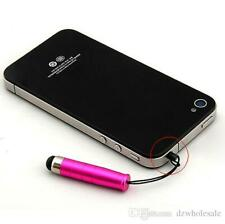 10x Mini stylus touch pen for iPhone Samsung Sony Htc LG phones ipad tablets