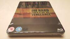 Die Hard 3: With a Vengeance STEELBOOK (Blu-ray, UK) PLAY.com Exclusive RARE OOP