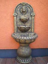 Brunnen, Wandbrunnen, Exklusiver Gartenbrunnen, Gartendeko, Steinguss, Beton