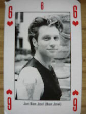 JON BON JOVI - KERRANG PLAYING CARD