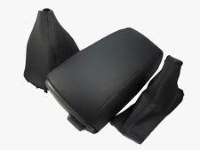 FITS VOLVO S70 V70 C70 850 GAITERS +ARMREST COVER BLACK ST