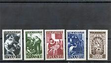 Saar Sc B69-73(Yt 263-7)*abVf Nh 1949 Semi Postal Set $250