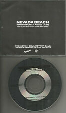 NEVADA BEACH Waiting for An Angel 1990 PROMO Radio DJ CD single USA Metal Blade
