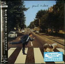 PAUL MCCARTNEY-PAUL IS LIVE-JAPAN MINI LP SHM-CD Ltd/Ed G00
