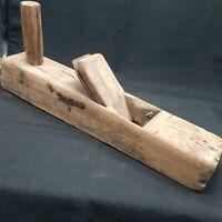 Wood Plane Hand Planer woodwork Primitive Antique Vintage