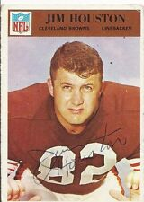 Cleveland Browns JIM HOUSTON Signed Card
