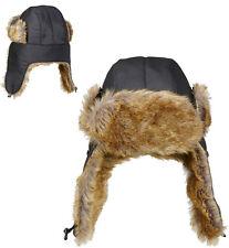 AVIATEUR Bonnet fourré NEUF - Carnaval Chapeau couvre-chef