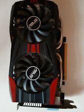 Asus nVidia GTX 760 Grafikkarte 2x DVI HDMI DisplayPort 2GB PCIe DirectCU II
