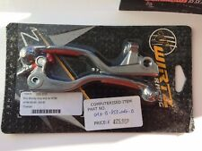 Wirtz Pro Shorty Levers Set KTM 65/85 2004/06 - Orange Grip