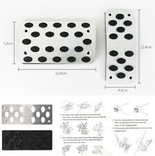 SUV Car Automatic Non-slip Gas Brake Stainless Steel Foot Pedal Covers 2Pcs/Set