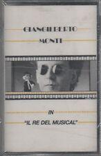 GIANGILBERTO MONTI IL RE DEL MUSICAL MC K7 MUSICASSETTA SIGILLATO!!!