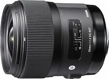 Sigma 35mm F1.4 DG HSM 'A' Lens - Nikon Fit (open box)